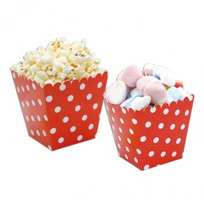 6 sweety box pois rossi